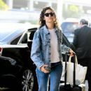 Emmy Rossum – Arrives at LAX Airport in LA - 454 x 666