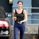 Ashley Greene Goes to Starbucks