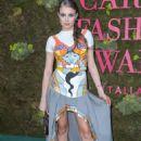 Xenia Tchoumitcheva – Green Carpet Fashion Awards 2018 in Milan - 454 x 681