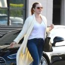 Amy Adams – Out and about in Beverly Hills