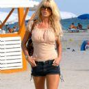 Victoria Silvstedt - Miami South Beach Candids, April 6