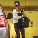 Kate Beckinsale in Leggings – Leaving a gym in Beverly Hills