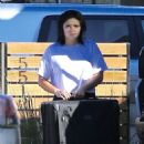Ariel Winter – Unloading Her Luggage Out of Her Car, Los Angeles 1/13/ 2017