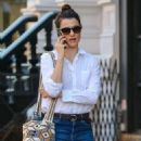 Rachel Weisz in Jeans – Walking in Soho in New York City 10/18/2016