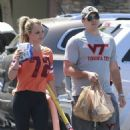 Britney  with boyfriend David Lucado