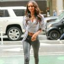 Jasmine Tookes – Arriving at the Victorias Secret fitting in New York - 454 x 642