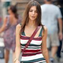 Emily Ratajkowski in Mini Dress – Out in New York City