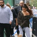 Ariana Grande – Walking her dog in New York