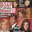 Melody Thomas Scott, Peter Bergman, Michelle Stafford, Susan Walters - Soap Opera Digest Magazine Cover [United States] (5 February 2002)