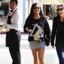 Christina Milian  out to lunch with friends at Il Pastaio in Beverly Hills, California on January 11, 2017 - 420 x 600