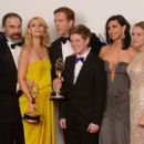The Homeland Cast At The 64th Annual Primetime Emmy Awards (2012)