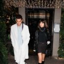 Bella Hadid – Leaving the after party of the Dior Homme show in Paris