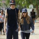 Ashley Tisdale: at Runyon Canyon Park in Los Angeles