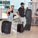 Nicky Whelan – Arrives in San Juan