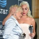 Glenn Close and Lady Gaga At The 24th Annual Critics' Choice Awards (2019)