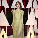 Emma Stone At The 87th Annual Academy Awards (2015) - 399 x 600