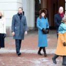 Prince Windsor and Kate Middleton visit Norway - Day 1