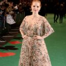 Jessica Chastain – 'Molly's Game' Premiere in London - 454 x 680