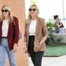 Kirsten Dunst – Seen Arriving at the airport in Venice