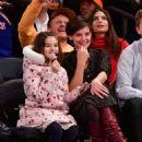 Katie Holmes – Oklahoma City Thunder vs New York Knicks game in NY - 454 x 633