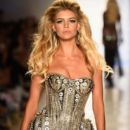 Model Kelly Rohrbach walks the runway at the Beach Bunny Featuring The Blonds show during Mercedes-Benz Fashion Week Swim 2015 at Cabana Grande at The Raleigh on July 18, 2014 in Miami, Florida