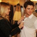 Steven R. Mcqueen shop at the new Armani Exchange store that opened at Lenox Square today, March 27 in Atlanta, Georgia.