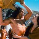 Eric Thal as Samson and Elizabeth Hurley as Delilah in Samson & Delilah (1996)