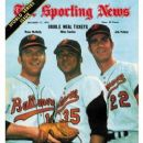 Dave McNally, Mike Cuellar & Jim Palmer
