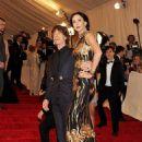 L'Wren Scott and Mick Jagger at 2011 MET Costume Institute Gala - 454 x 611