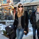 Jessica Biel: arrived at the 2013 Sundance Film Festival in Park City