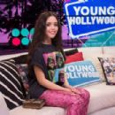 Jenna Ortega – Visits the Young Hollywood Studio in Los Angeles