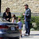 Ben Affleck and Jennifer Garner after church Sunday, March 26th, 2017 - 454 x 360
