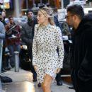 Margot Robbie – Arrives at Good Morning America in New York