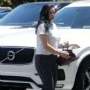 Ariel Winter – Heading into West Valley Medical Center in Los Angeles
