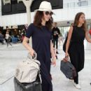 Olga Kurylenko at Nice Airport in France