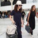 Olga Kurylenko at Nice Airport in France
