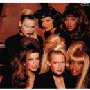 Nadja, Linda,Tyra, Shana, Estelle & Beverly