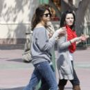 Selena Gomez spends time with family at Disneyland (April 10)