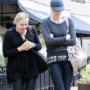 Charlize Theron's Weekend Workout with Mom