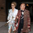 Blake Lively – Leaving the Greenwich Hotel to attend Met Gala in NYC