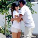 Eva Longoria And Tony Parker Have Lunch And Shop At The Malibu Market, 2008-07-27