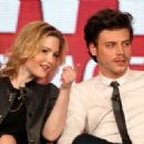 François Arnaud and Evelyne Brochu