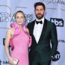 Emily Blunt and John Krasinski At The 25th Annual Screen Actors Guild Awards 2019 - Arrivals