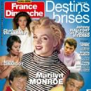 Marilyn Monroe - France-Dimanche Magazine Cover [France] (18 March 2016)