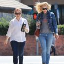 Alyson Hannigan and Leslie Bibb out for lunch in Studio City - 454 x 540