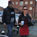 Tulisa Contostavlos In Tight Jeans Out In Manchester
