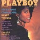 Renee Tenison - Playboy Magazine Cover [Czech Republic] (August 1991)