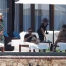 Jessica Alba and Cash Warren in Cabo San Lucas