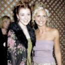 Alyson Hannigan and Sarah Michelle Gellar - MTV Video Music Awards 1998 - 426 x 720