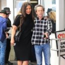 Sanaa Lathan was spotted out having lunch with Brian Grazer in Beverly Hills, California on March 24, 2017